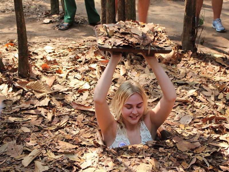 Cu Chi Tunnels Travel