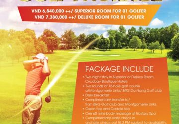 Cocobay Danang 2 NIGHTS STAY GOLF PACKAGE