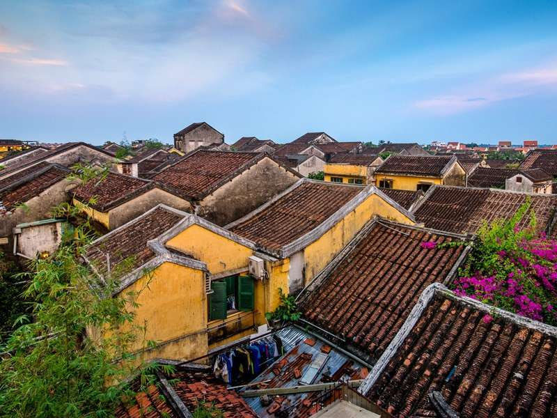 The roof of Hoi An ancient town